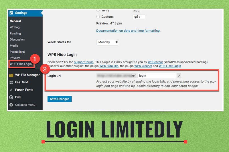 Login limitedly