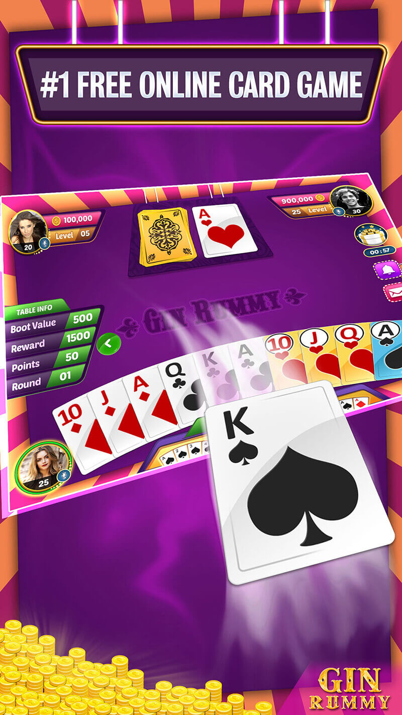 Playing Gin Rummy Multiplayer
