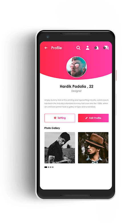 creating dating app