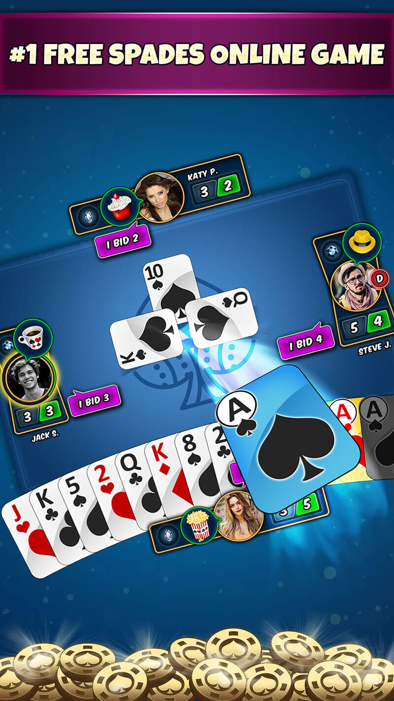 online spades game download